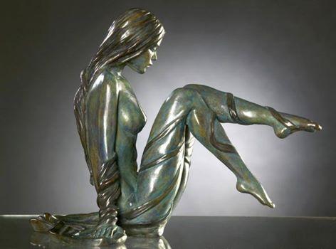 Marie Paule Deville szobra